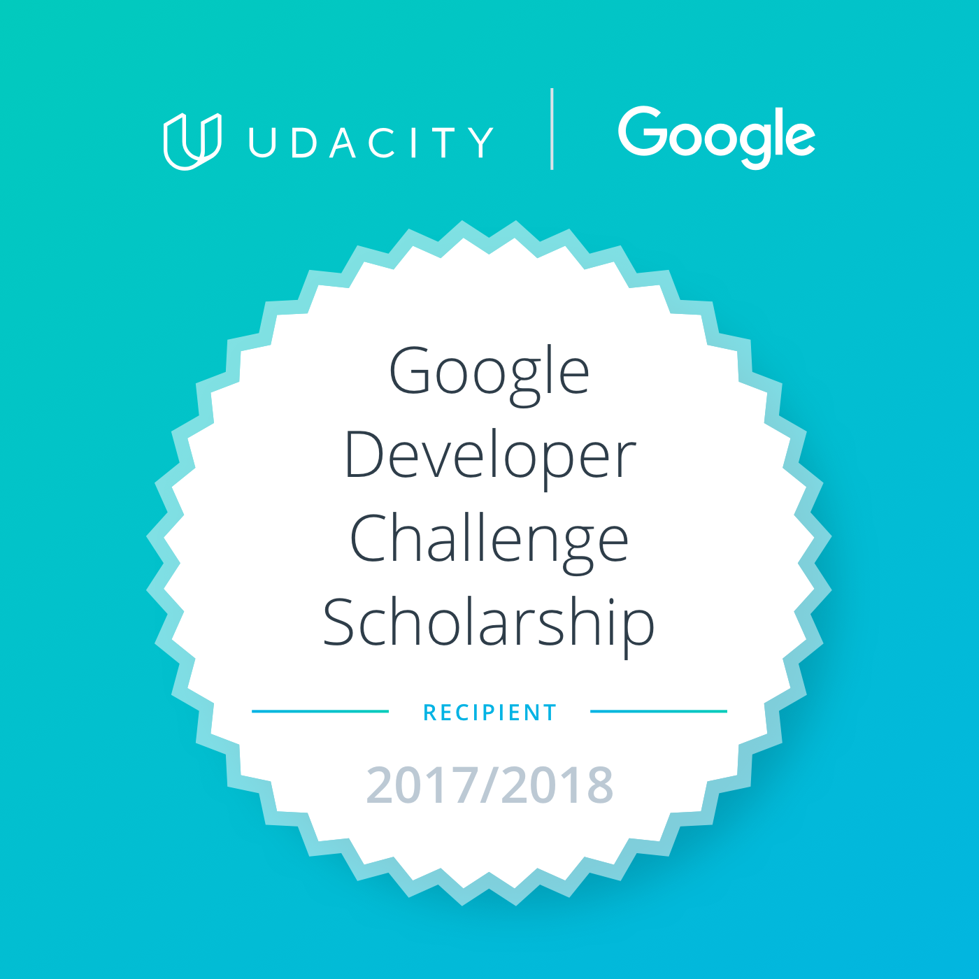Google Developer Challenge Scholarship